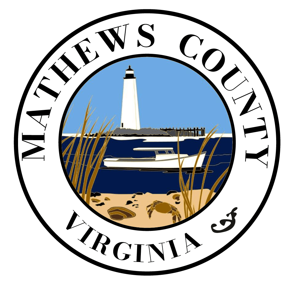 Mathews County City Seal