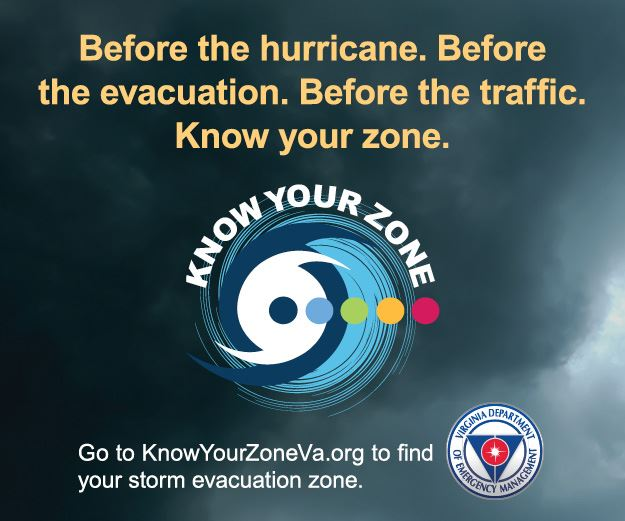 Before the hurricane. Before the evacuation. Before the traffic. Know your zone.